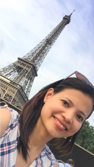 Selfie while on Seine River Cruise